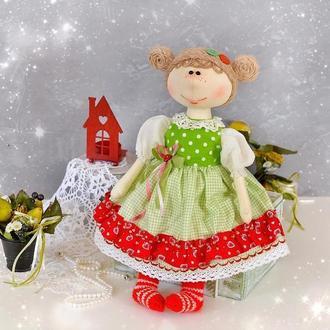 Кукла игровая. Текстильная кукла в интерьер. Кукла для девочки.