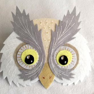 Наска наголовник Белая сова