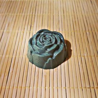 Мыло с голубой глиной (очищающее).