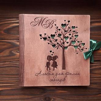 Фотоальбомы из дерева. Эксклюзив