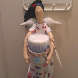 Фея - хранительница ватных палочек и косметических дисков
