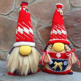 Скандинавские гномы (семейная пара)