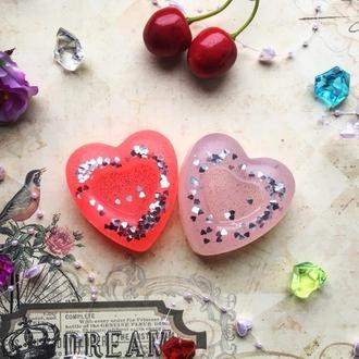Мыло сувенирное Сердце ручной работы