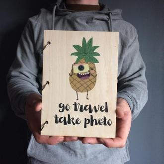Блокнот Go travel take photo