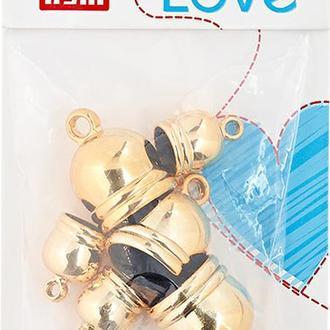 Концевики-шапочки для кистей Prym Love 6 шт, золотистый