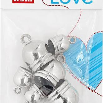 Концевики-шапочки для кистей Prym Love 6 шт, серебристый