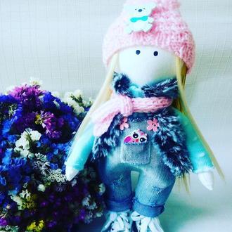 Интерьерная кукла Стильняшка