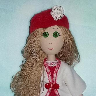 Кукла текстильная, кукла интерьерная, кукла авторская