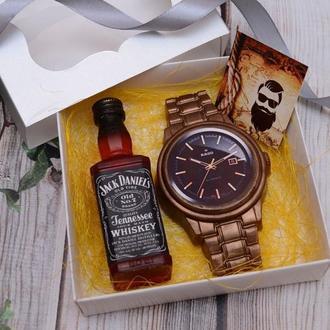 Набор мыла для мужчин (виски и часы)