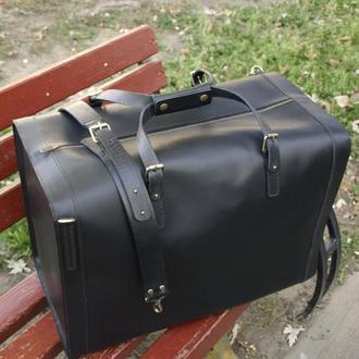 Кожаная дорожная  сумка Travel