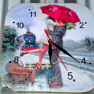 Часы панно