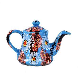Чайник керамический расписной