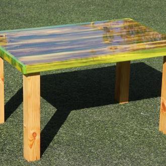 Декоративний стіл «Свіжа зелень»