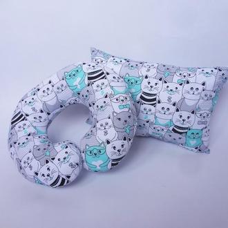 Декоративная подушка - коты