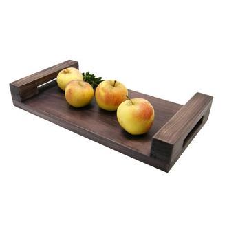 Деревянный декоративный поднос, фотофон