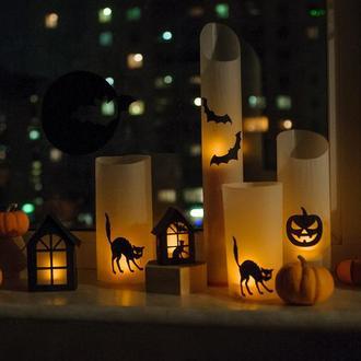 Светильники на Хеллоуин. комплетк для сборки.
