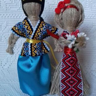 """""""Козак и Берегиня"""" Подарок-оберег в семью. Handmade."""