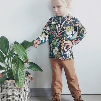 Штаны для детей цвет карамель