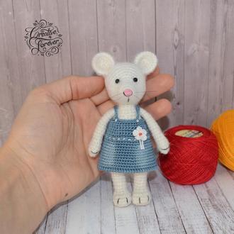 Мышь в сарафане, детская игрушка