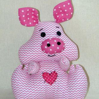 Интерьерная игрушка Поросенок Нуф-нуф