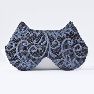 Кружевная маска для сна кошка, Подарок женщине