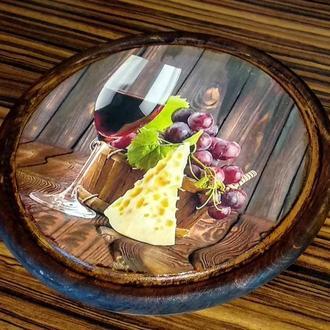 Сырная досточка диаметр 30 см