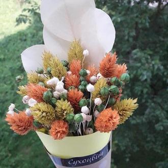 Букет із сухоцвітів / Букет из сухоцветов