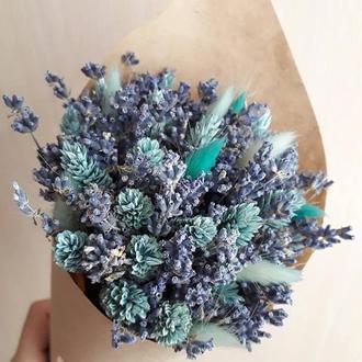Лавандовий букет / Букет із сухоцвітів / Лавандовый букет / Букет из сухоцветов