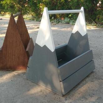 Деревянный ящик декоративный