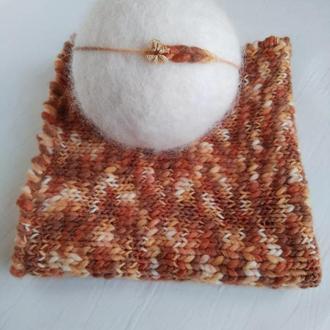 Вязаный плед для фотосессии новорожденых, вязаный коврик с повязкой, newbornprops