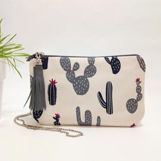 Cactus сумка женская через плечо