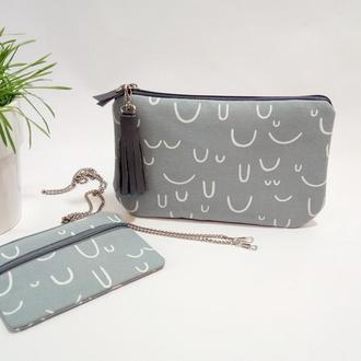 Женская сумка Smile Комплект с Кошельком