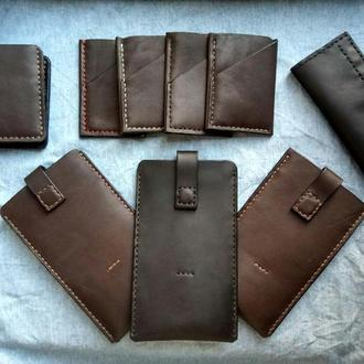 Кожаные изделия ручной работы на заказ