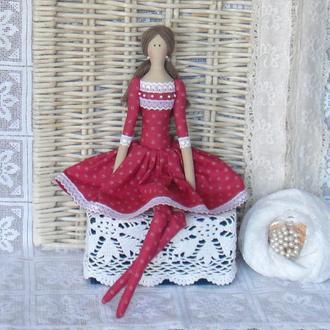 Кукла в стиле Тильда Линда