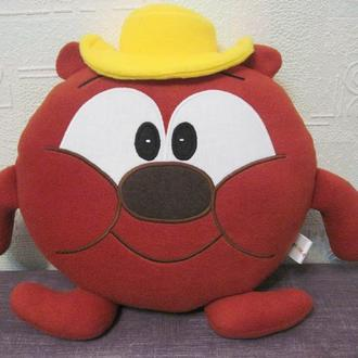 Мягкая игрушка - подушка Смешарики медведь Копатыч