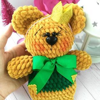 Вязаная игрушка Медвежонок