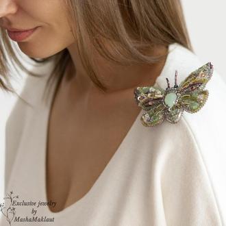 Бабочка-оливка