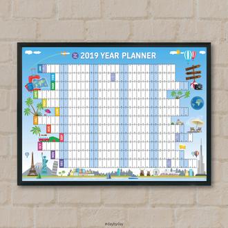Большой настенный календарь в подарочной упаковке