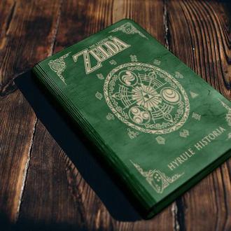 """Обложка для блокнота """"Zelda"""""""