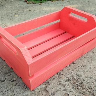 Ящик дерев'яний декоративний