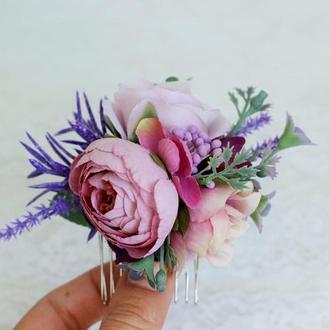 Цветочный гребень Лаванда