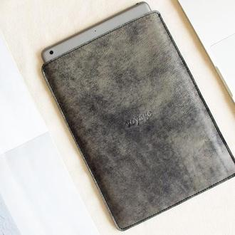 Кожаный чехол для iPad Pro 11, 10.5 & 9.7 // PELTA (Graphite)
