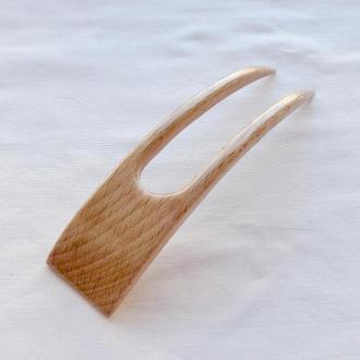 """Заколка для волос из дерева """"Бук"""""""