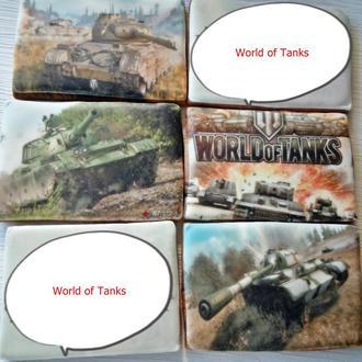 Печатные пряники расписные для детей World of Tanks