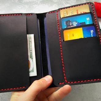 Мужское портмоне из кожи для прав,холдер для паспорта,холдер для документов на подарок