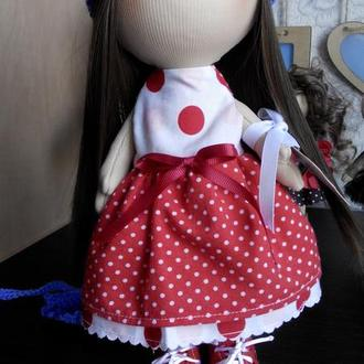 Кукла интерьерная.Кукла Тильда.Кукла игровая.