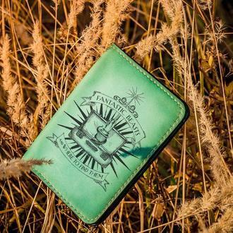 """Обложка на паспорт """"Фантастические твари"""""""
