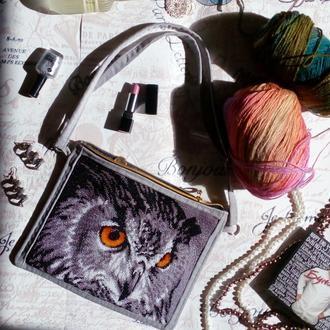 Косметичка клатч сумочка с вишивкой бисером