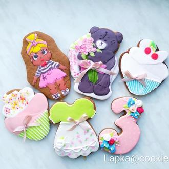 Подарочный набор для девочки на день рождения