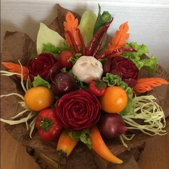 Карвинг букет овощной «На борщ»